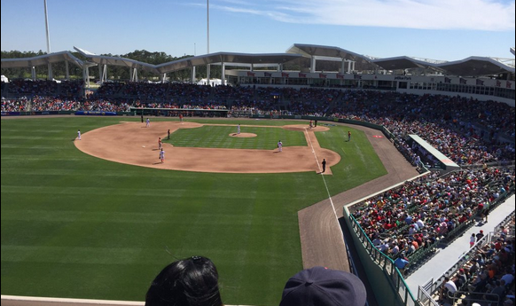 Fort Myers Red Sox stadium.