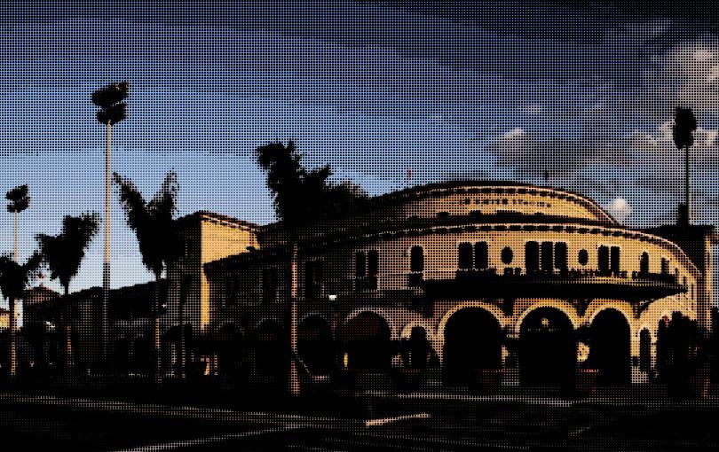 Ed Smith Stadium in Sarasota, darkened.