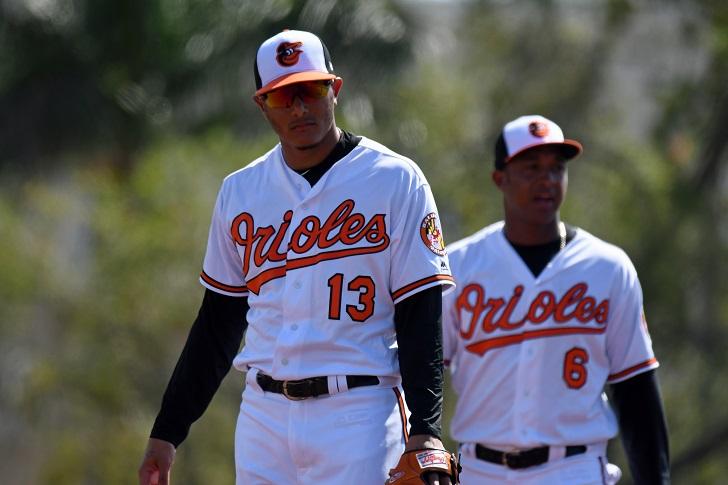 Manny Machado & Jonathan Schoop.