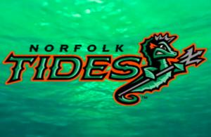 The Norfolk Tides logo.